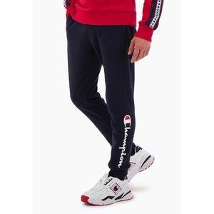 Champion Mens Reverse Weave Logo Jogger Sweatpants